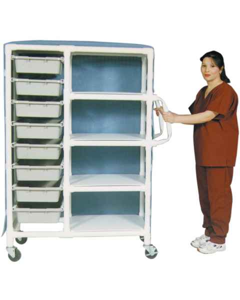 MR-Conditional PVC 8-Drawer Storage Cart