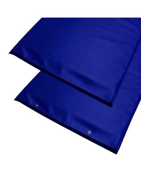 """Standard Radiolucent X-Ray Table Pad - Blue Vinyl 72"""" L x 23.25"""" W"""