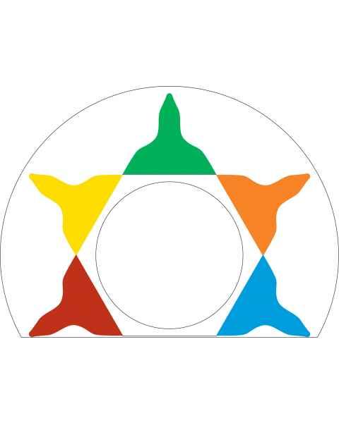 Pedigo RCC-CW Color Indexing ID Wheel for Revolution Case Carts