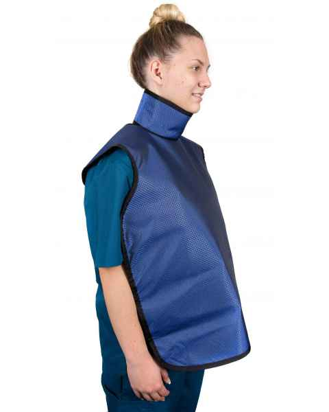 Quickship Adult Dental X-ray Apron With Sewn in Thyroid Collar