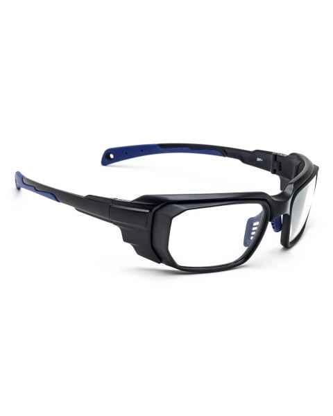 Model 16001 Wrap Around Radiation Glasses - Black Blue