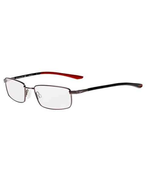 Nike 4301 Radiation Glasses - Brushed Gunmetal Gym Red 073