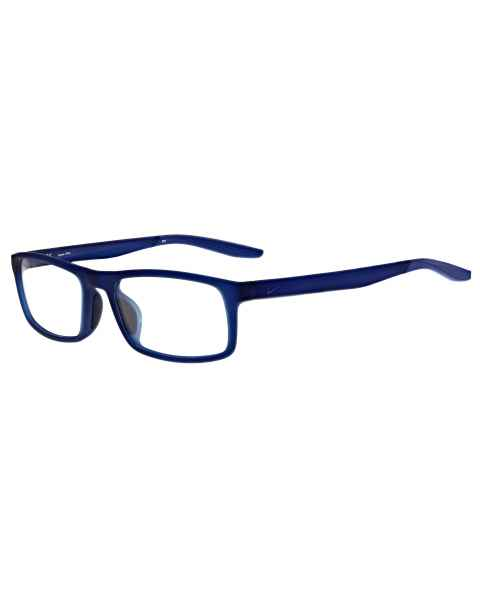 Nike 7119 Radiation Glasses Matte Midnight Navy Racer Blue 401