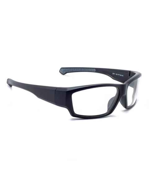 Model TP198 Wrap Around Radiation Glasses - Black