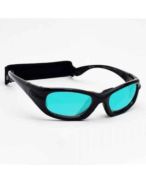 Model EGM Radiation/Laser (Multiwave YAG Alexandrite Diode) Combination Glasses - Black