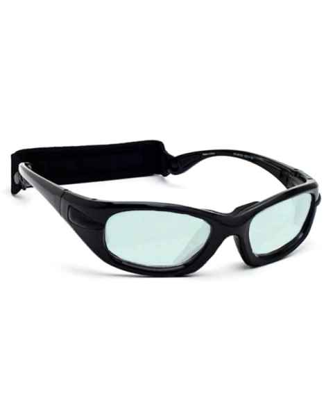 Model EGM Radiation/Laser (Holmium/Yag/CO2) Combination Glasses - Black
