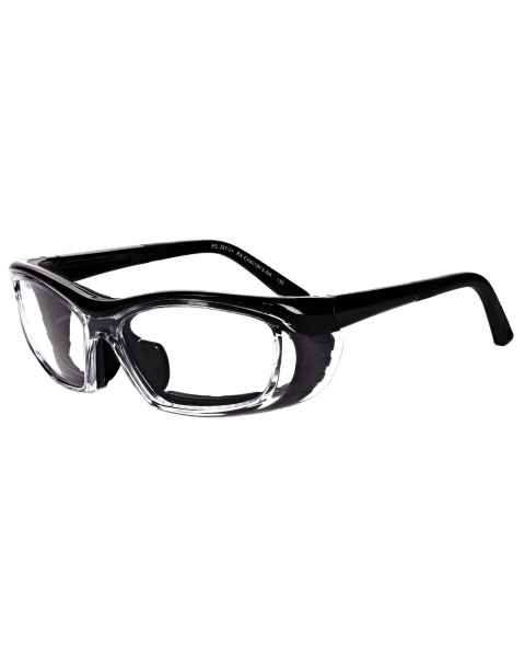 Safety Glasses Model EX601-FS - Black
