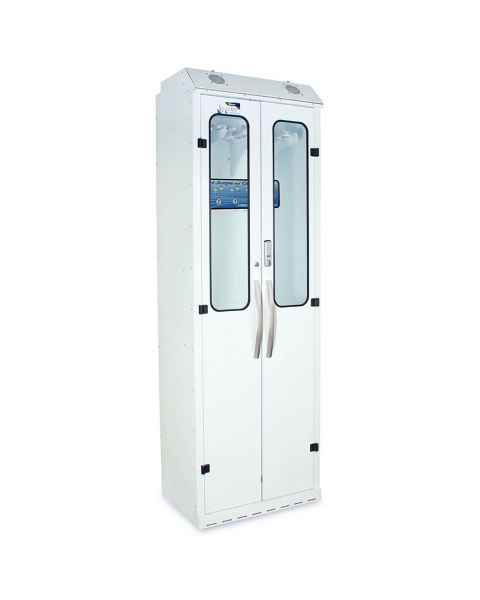 Harloff SC8030DREDP-DSS2310 Powder Coated Steel SureDry 10 Scope Drying Cabinet with Dri-Scope Aid - Basic Electronic Push Button Locking Tempered Glass Doors