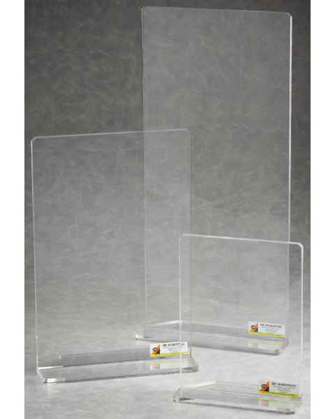 IBI Beta-Gard Acrylic Benchtop Straight Radiation Shields