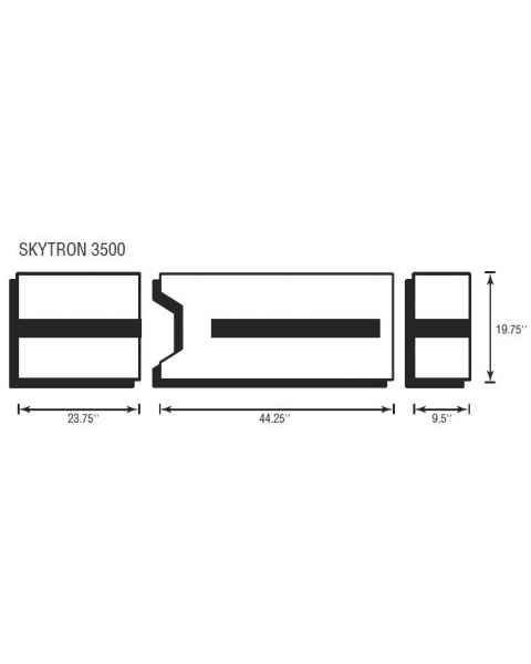 Skytron 3500 3 Piece Table Pad Set