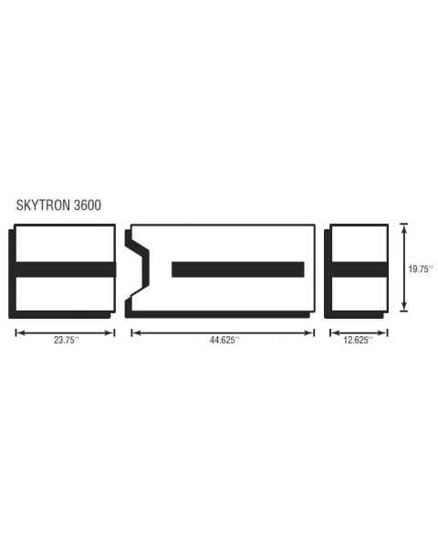 Skytron 3600 3 Piece Table Pad Set