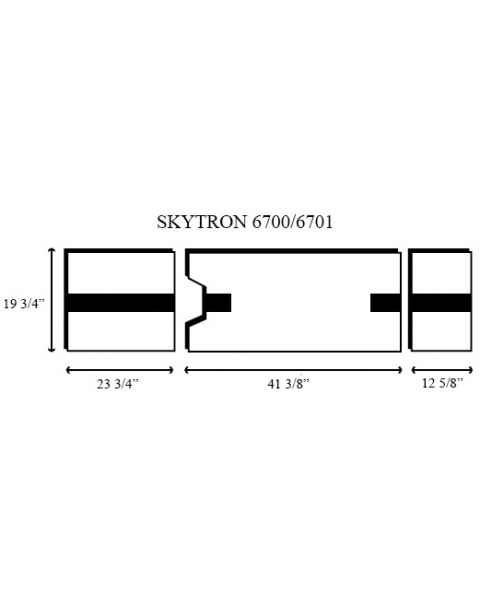 Skytron 6700/6701 3 Piece Table Pad Set