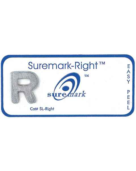 "Suremark ""R"" Right Disposable Lead Marker"