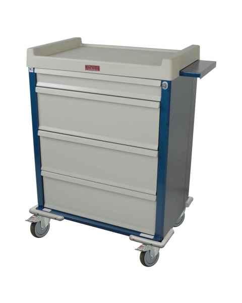 Harloff SL270MOT Standard Line MOT® Compatible Medication Cart with Key Lock