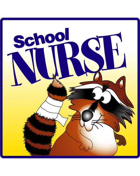 Clinton School Nurse Sign