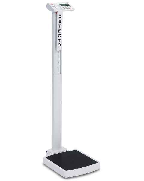 solo Digital Clinical Scale with Mechanical Height Rod