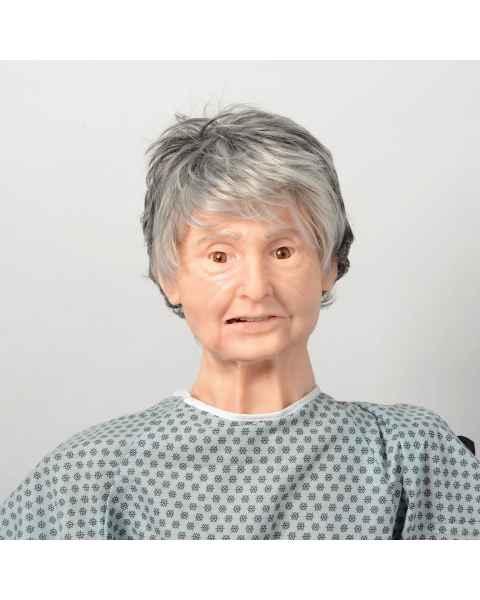 Nasco LF04300 TERi Geriatric Patient Care Trainer - Light Skin Tone