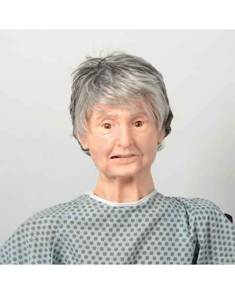 Nasco LF04301 TERi Geriatric Patient Skills Trainer - Light Skin Tone