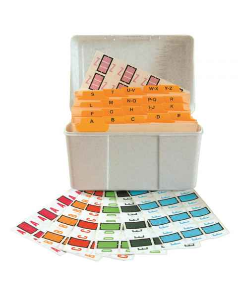 "Smead BCCS Match TPPK Series Alpha Sheet Labels - 1""H x 1 1/4""W"