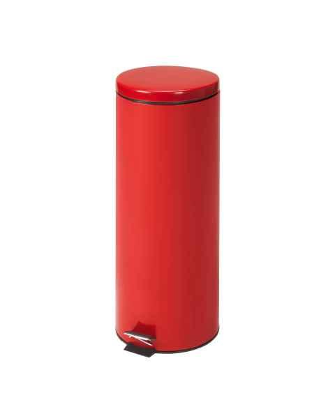 Medium Round Red Waste Receptacle - 20 Quart (5 Gal)