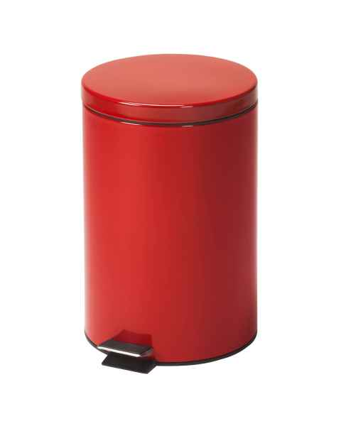 Medium Round Red Waste Receptacle - 20 Quart (5 Gal)