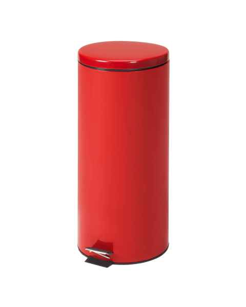 Large Round Red Waste Receptacle - 32 Quart (8 Gal)