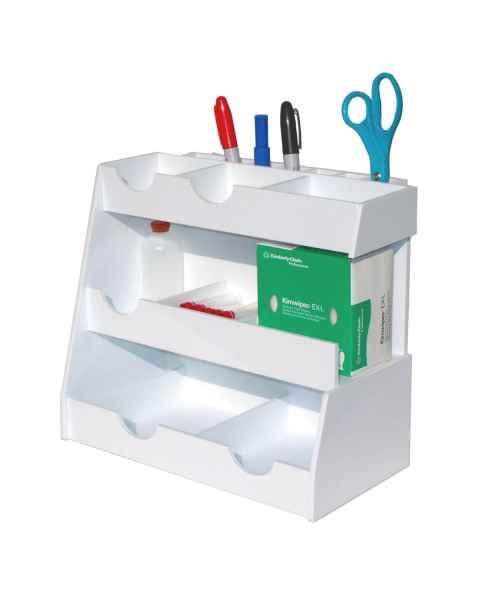 Bench Top Workstation Organizer