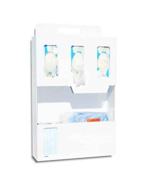 UM3219-WABS Personal Protection Isolation Organizer - White ABS