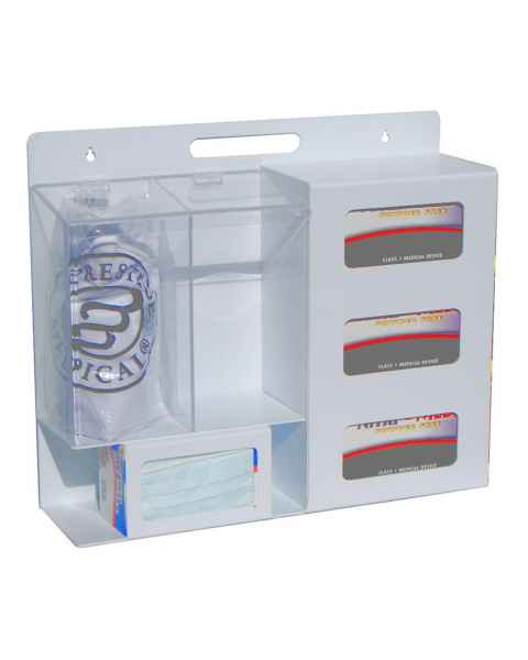 """UM3220 Personal Protection Station - 22"""" Width x 19"""" Height x 6.5"""" Depth"""