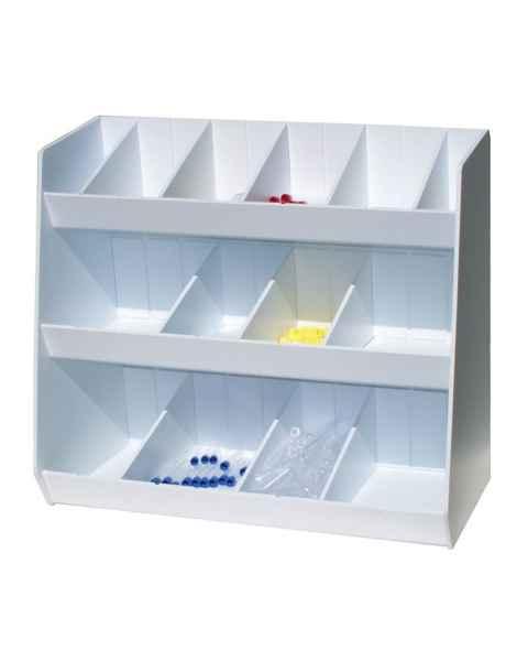 Adjustable Storage with Fourteen Bins