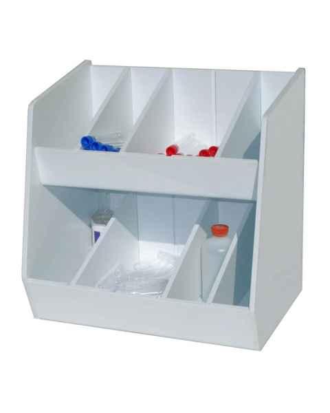 Adjustable Storage with Eight Bins
