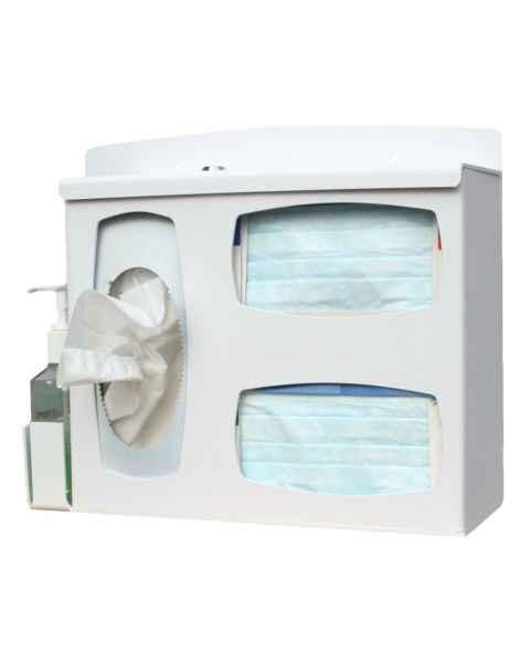 Locking Respiratory Hygiene Station UM4809