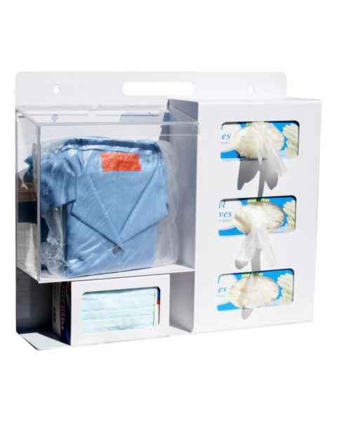 Personal Protection Station (1 Clear Pocket)
