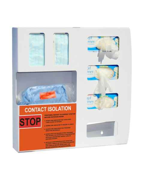 Isolation Station Four Glove Boxes