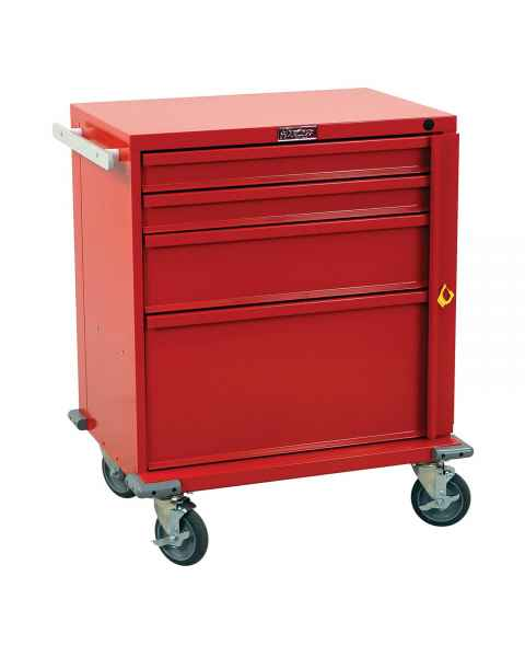 Harloff V24-4B V-Series Emergency Cart Four Drawer with Breakaway Lock
