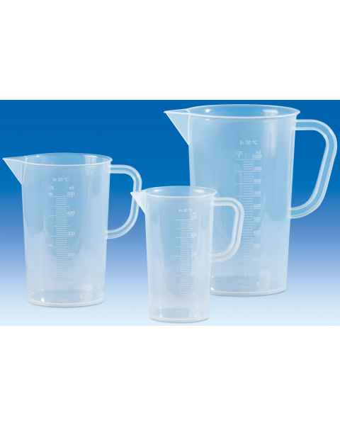 BrandTech VITLAB Graduated Pitchers Molded Graduations - Polypropylene (PP)