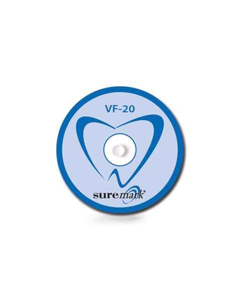 DentalMark 2.0mm Visionline Ball on Denture Sized Label