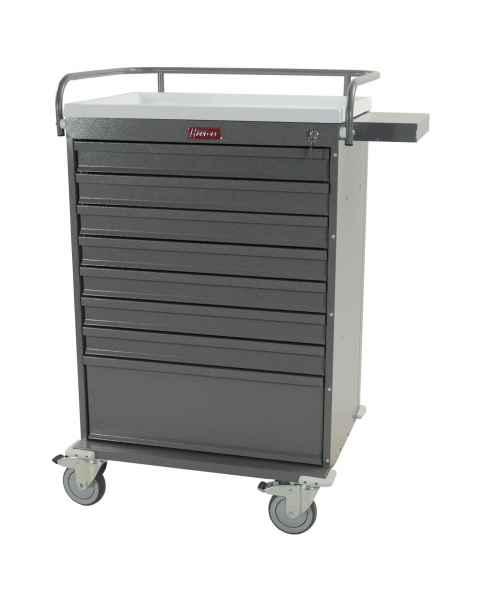 Harloff VLT216BOX Value Line 216 Unit-Dose Box Medication Cart with Key Lock