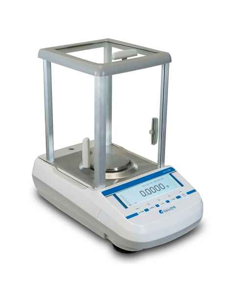 Accuris Analytical Balance Series Dx, Internal Calibration, Graphical Display, 120gx0.0001g
