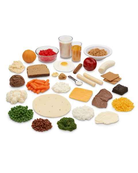 Life/form Exchange Portions Food Replica Set