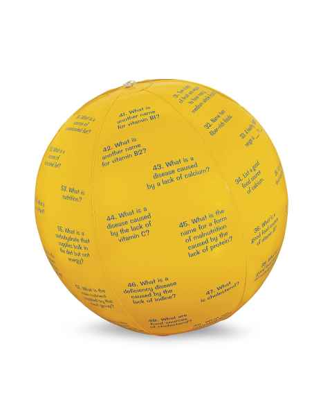 Life/form Nutrition Facts Toss-Up Ball
