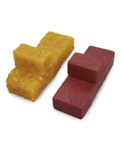Life/form Body Fat Brick Replicas and Life/form Body Muscle Brick Replicas - Set of 4