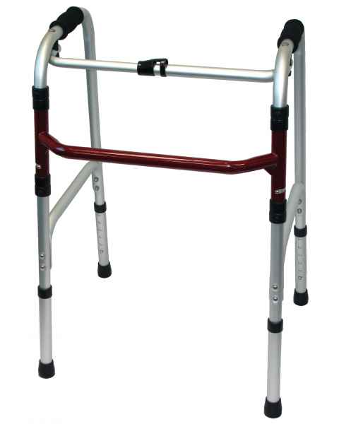MRI Non-Magnetic Folding Walker - Adult