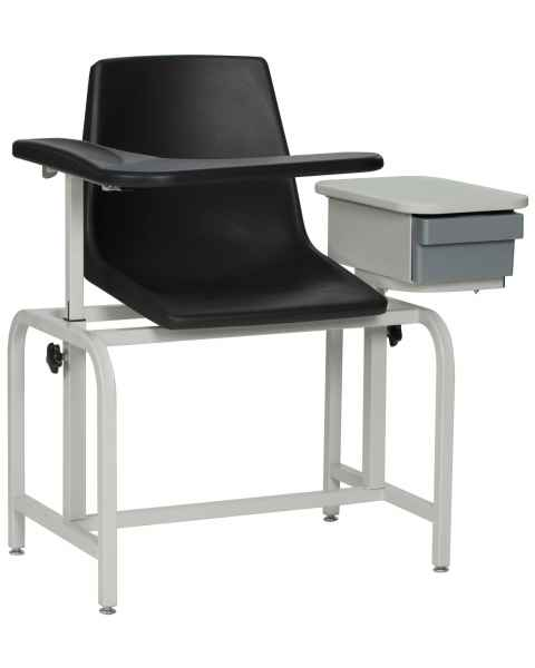 Blood Drawing Chair Plastic Seat with Drawer