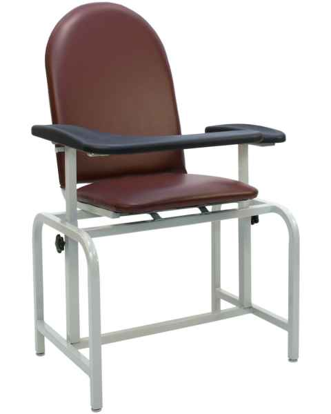 Blood Drawing Chair Padded Vinyl Seat