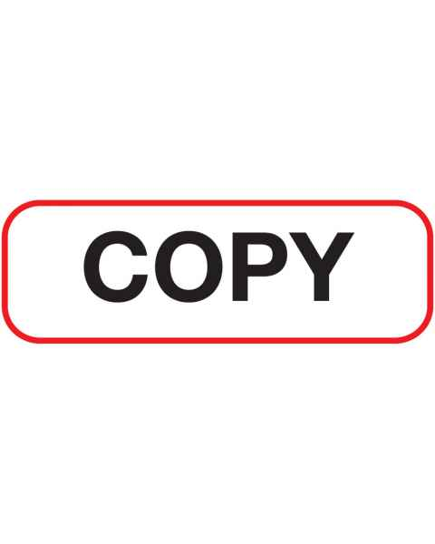 COPY Label