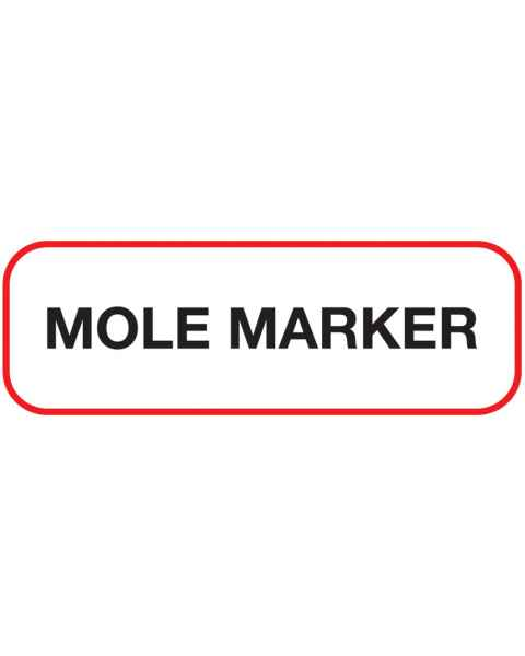 MOLE MARKER Label