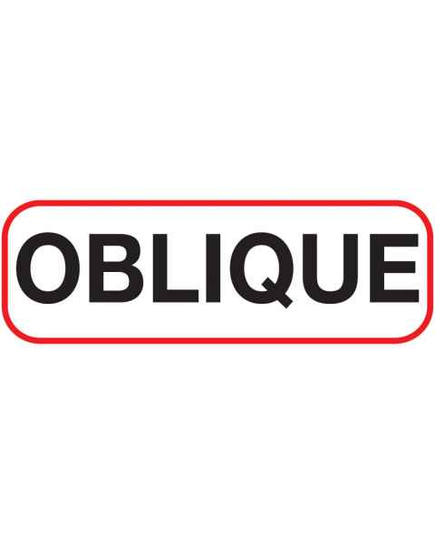 OBLIQUE Label