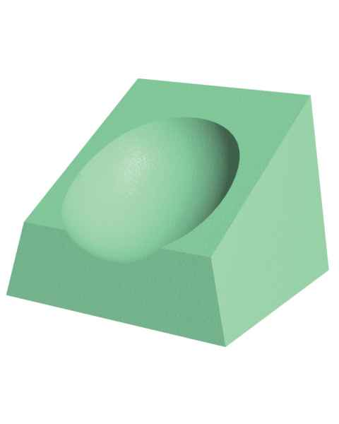 Non-Stealth Coated CT Headrest Sponge