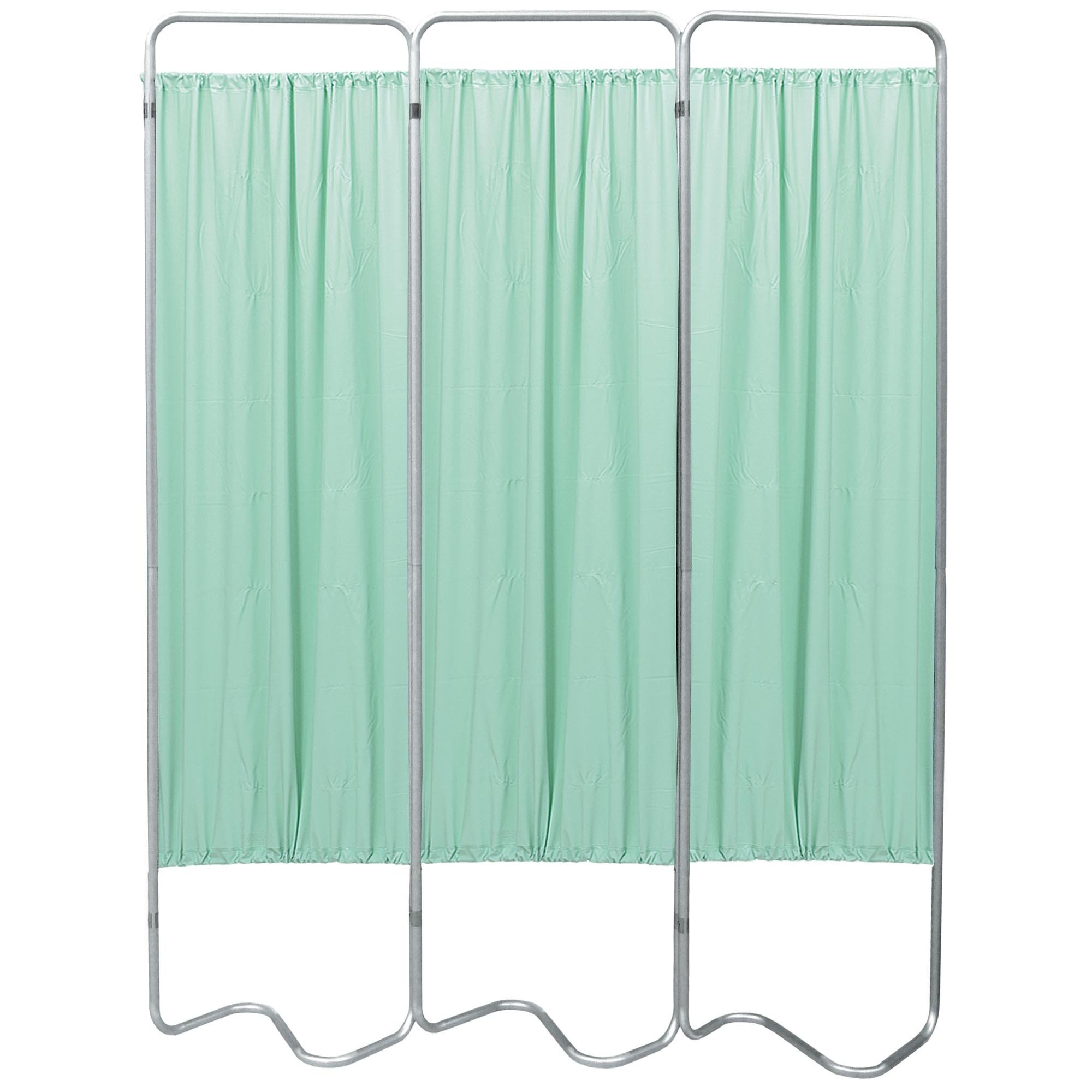 Beamatic 3 Section Folding Privacy Screen - Green Vinyl Screen Panel